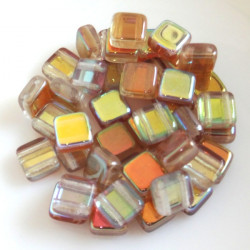 Tile Crystal Brown Rainbow,...
