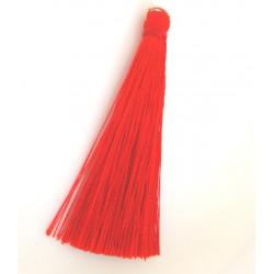 Střapec červený, 7 cm, 1 ks