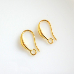 Afroháček zlatý, 15x10 mm,...