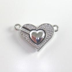 Magnetické zapínání Srdce,...