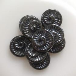 Korálky Ulita (Fossil Shell...