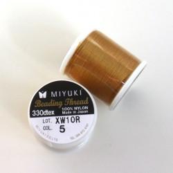 Miyuki nylonová nit Gold, 50 m