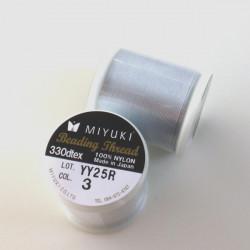 Miyuki nylonová nit Silver,...