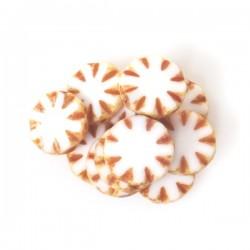 Ploškované korálky Sluníčko...
