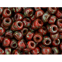 MATUBO™ 7/0 Opaque Red -...