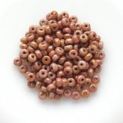 Mačkané korálky rondelky...