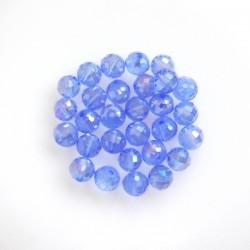 Broušené korálky Light blue...