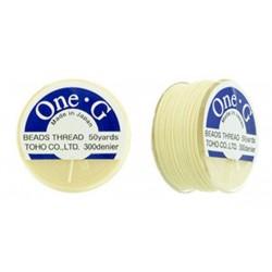 TOHO nylonová nit One-G Cream,...
