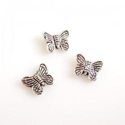 Kovový korálek Motýl,...