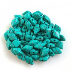 MATUBO Gemduo™ Ionic Turquoise...